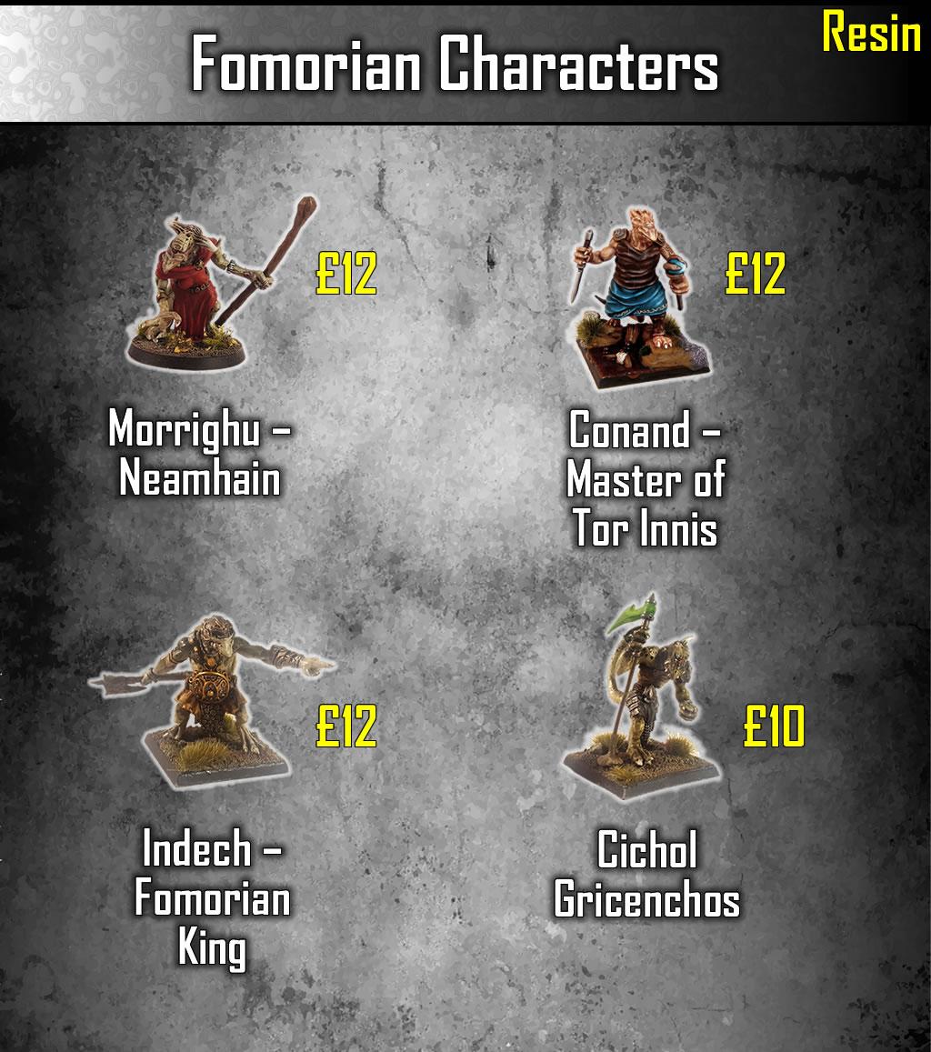 Fomorian Characters