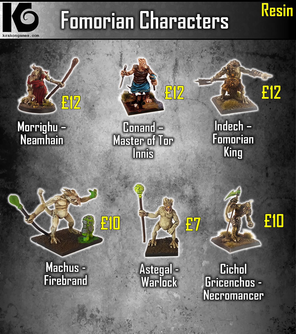 Fomorian Characters